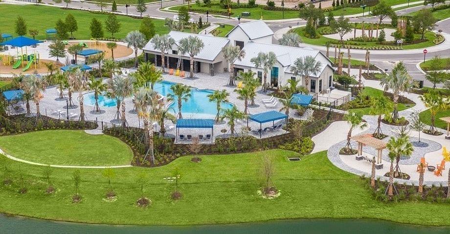 community pool Florida developers