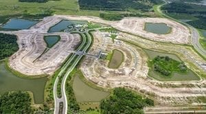 North River Ranch land development aerial