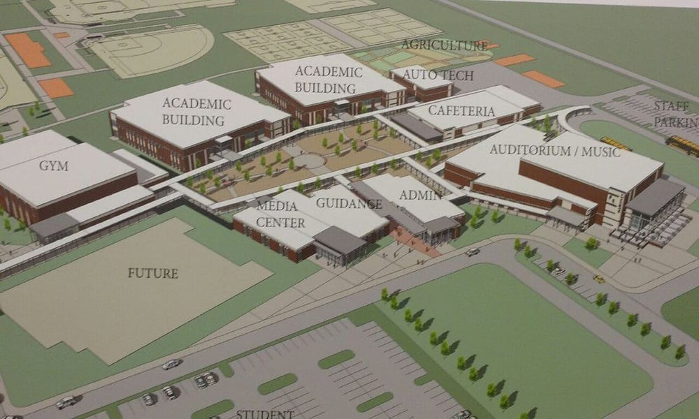 Plans for new high school Parrish Florida