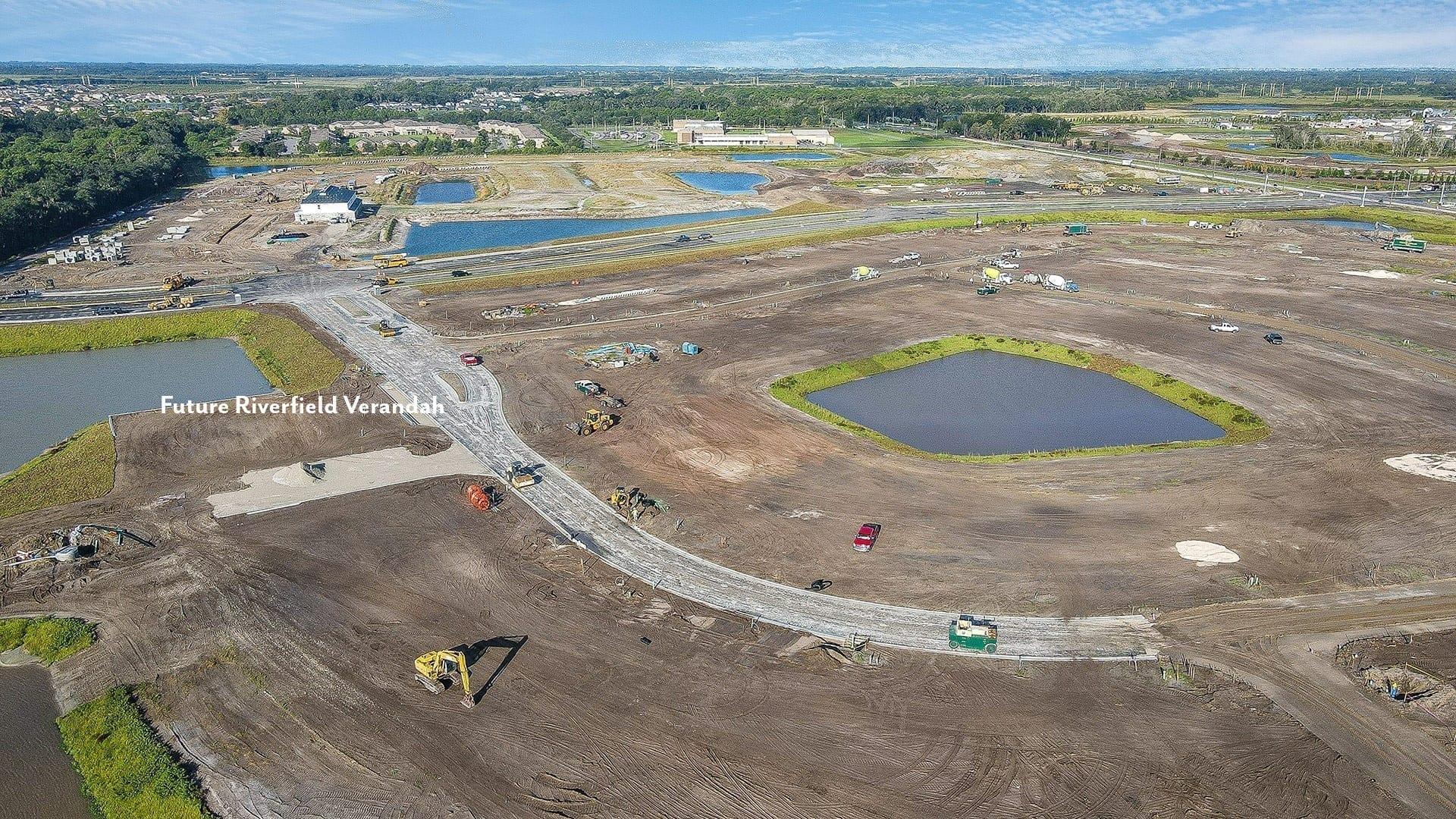 Overhead aerial Future Riverfeild Verandah