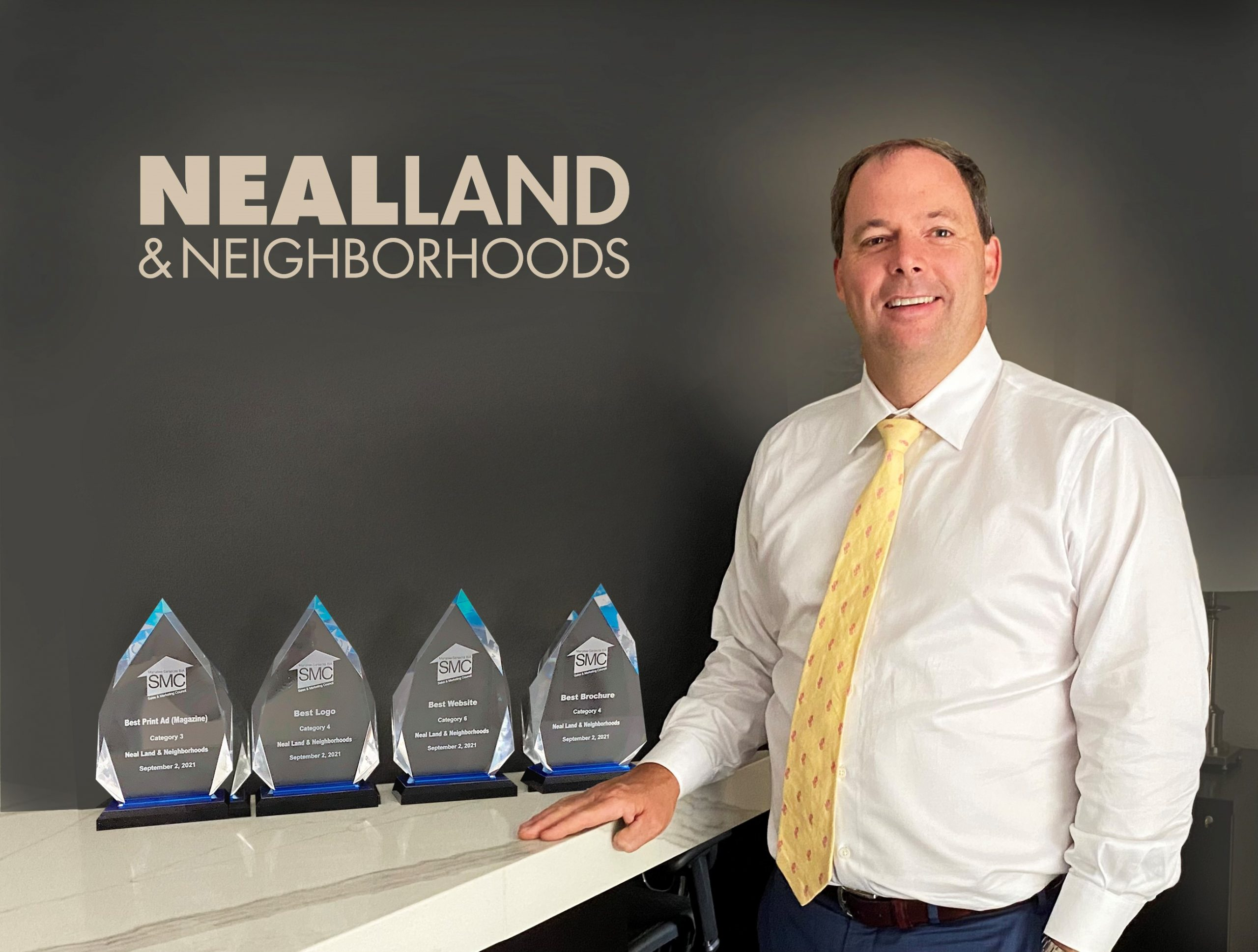 John A. Neal with four awards North River Ranch